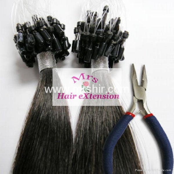 Loop Hair Extension Micro Link Human Hair Extensions Remy