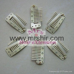 Hair extension tools--Clips