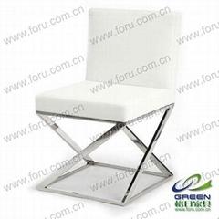 不鏽鋼餐椅