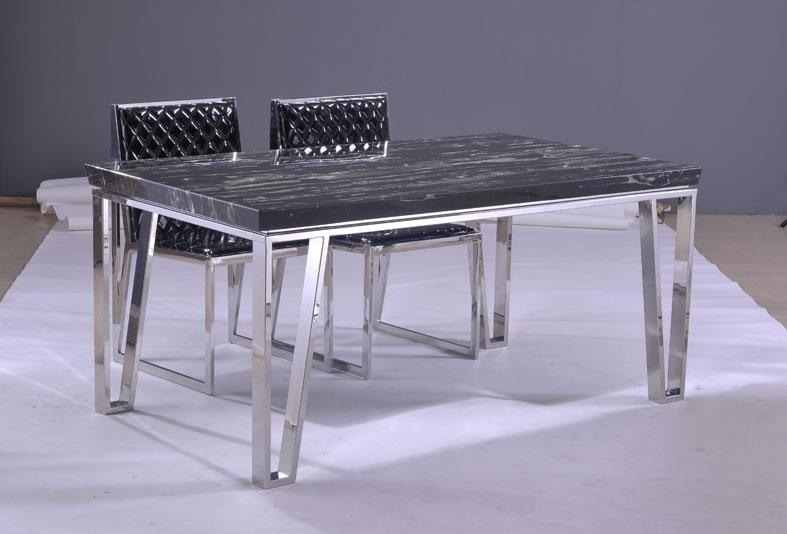 Kitchen Table With Stainless Steel Legs