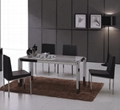 Dining Room Furniture Manufacturers: Stainless Steel Dining Table