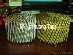 sell  screw shank  coil nails