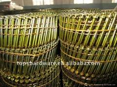 sell 15degree wire coil nails for pallet