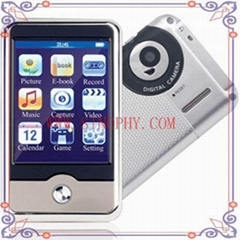 digital mp4 player with digital camera