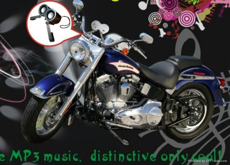 摩托車雙響炮音響 4