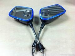 摩托車后視鏡音響帶彩燈后視鏡MP3