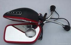 摩托車反光鏡音響