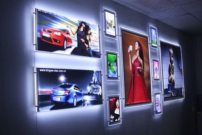 Crystal Led Light Box Luz China Trading Company