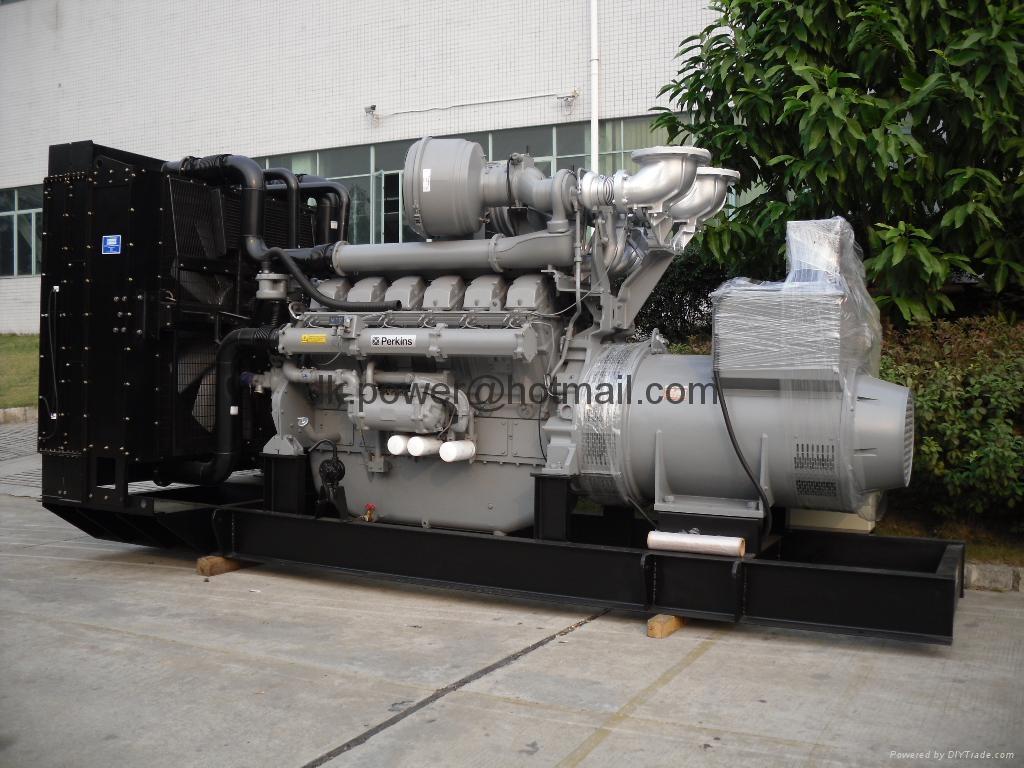 Perkins diesel generators powered by UK Perkins series - Product