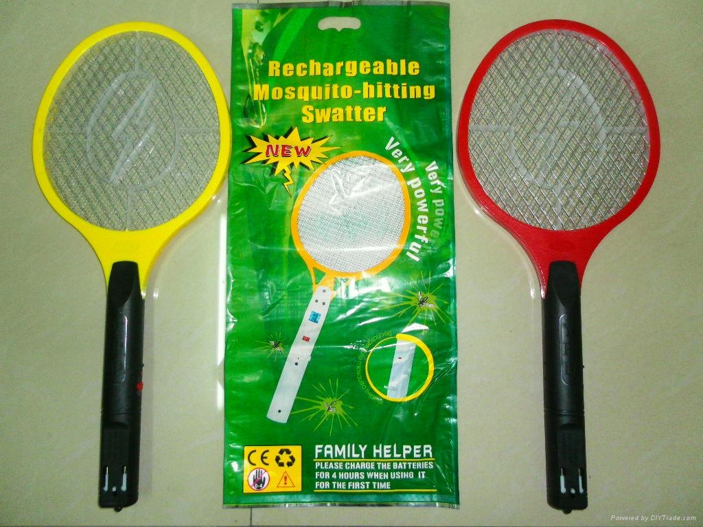 YPD Electronic Mosquito Swatter,Bat Killer Racket 4