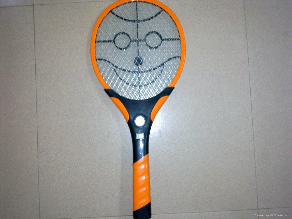 rechargeable Mosquito Swatter with LED Light/Bat Killer Racket/Pat 1