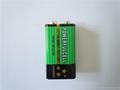 厂家供应9V/6F22叠层电池