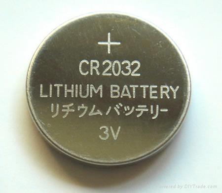 供应3V CR2450 锂锰扣式电池 1