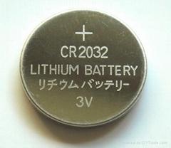 供应3V CR2450 锂锰扣式电池