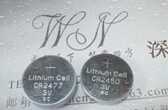 厂家供应CR2477 3V锂锰扣式电池