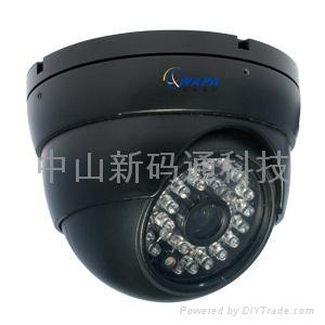 中山监控安装百万高清网络摄像机 1
