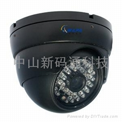 中山监控安装百万高清网络摄像机