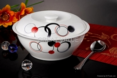 "9.4"" fine bone china soup bowl"