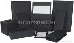 Leather note pad set