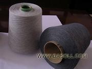Cotton/Viscose melange yarn