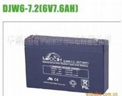 供应理士LEOCH 6V7.2AH UPS不间断电源用蓄电池