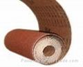 polyester abrasive rolls