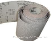 coated abrasive paper rolls