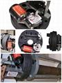 High Speed Aluminum Side Spring Balance Rolling Door Motor 4
