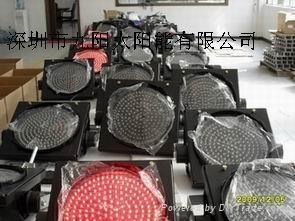 太阳能交通黄闪灯 2