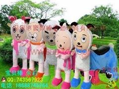 儿童电动玩具车,最可爱的喜羊羊