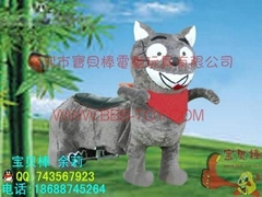 儿童电动玩具车,灰太狼