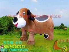 儿童电动玩具车,    的淘气狗