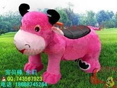 儿童毛絨動物電動玩具車
