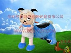 喜羊羊电动玩具车