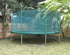 14FT trampoline with enclosure