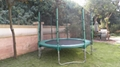 14FT trampoline with enclosure 2