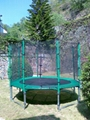 10FT trampoline with enclosure 2