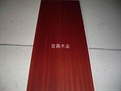 Sapele engineered flooring