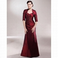 A-line Sweetheart Floor-length Taffeta Mother of the Bride Dress