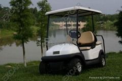 卓越电动车观光车售楼车高尔夫球车