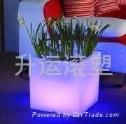 加工塑料花盆