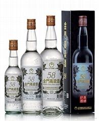 金門58度特級高粱酒白金龍