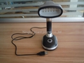 12led plastic reading lamp with USB,desk lamp