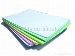 NCR PAPER in sheet
