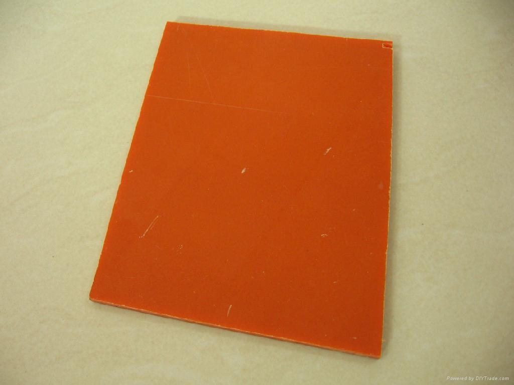 Paper Based Bakelite Sheet Orange Quanda China