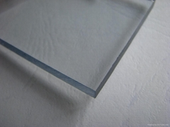 PC sheet with film protected on the surface