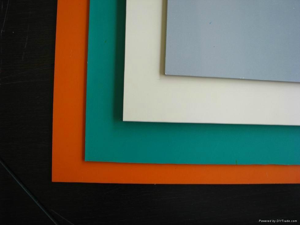 colored PVC rigid sheet - Quanda (China Manufacturer) - Rubber ...