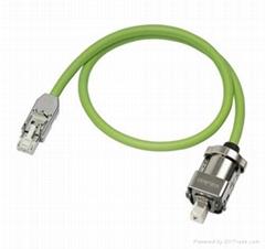 定制西门子伺服电缆   伊倍达连接器