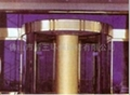 Four-wing Automatic Ring Pillar Revolving Door