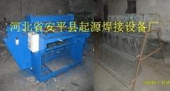 供應焊接雞籠底網片的雞籠網排焊機